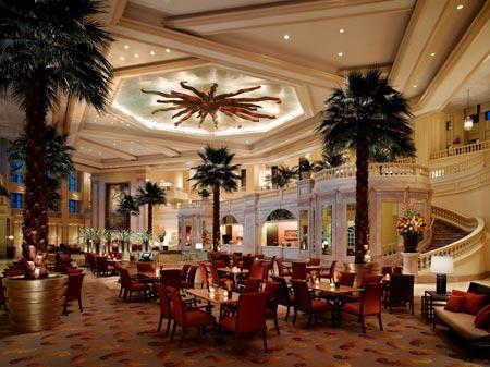 The Peninsula Manila Lobby