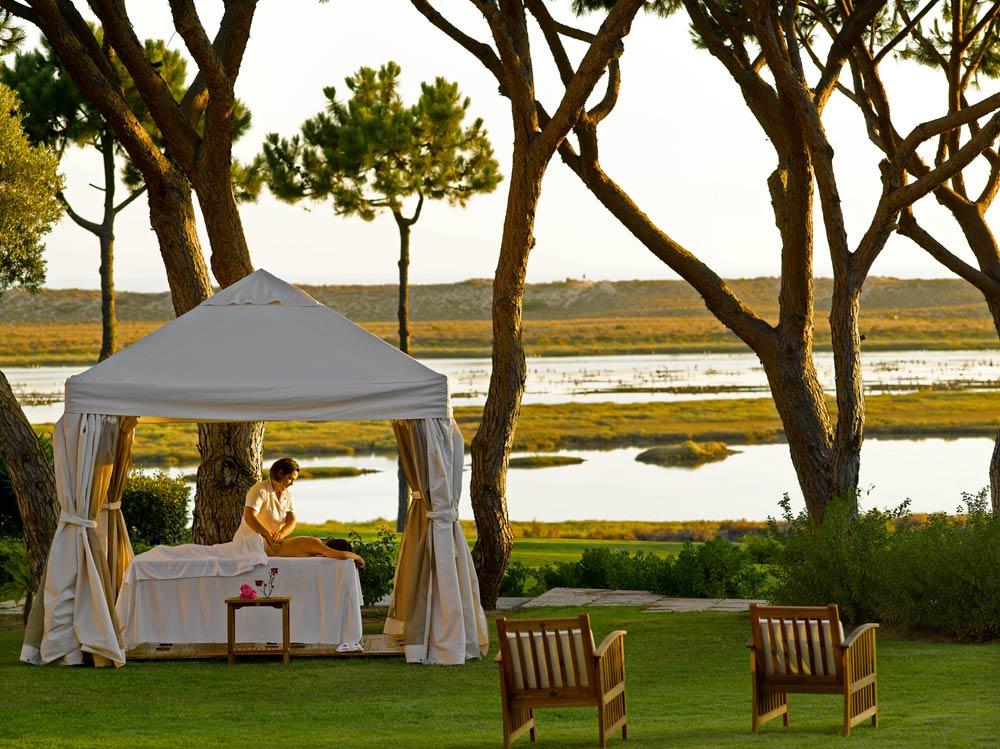 Hotel Quinta Do Lago Massage in the Garden