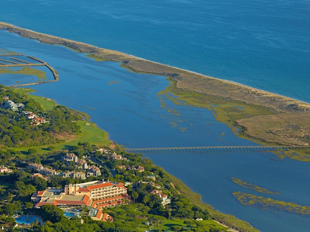 Hotel Quinta Do Aerial View