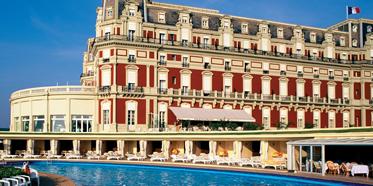 Exterior of Hotel Du Palais