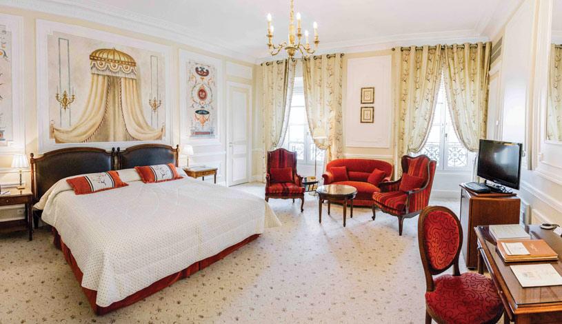 Suite at Hotel Du Palais