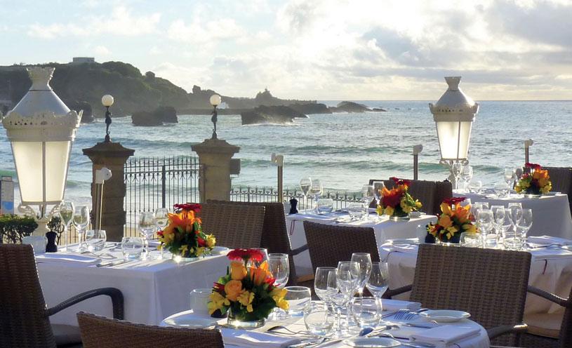 Dining at Hotel Du Palais