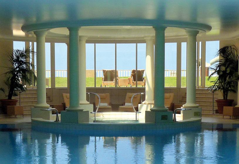 Pool at Hotel Du Palais
