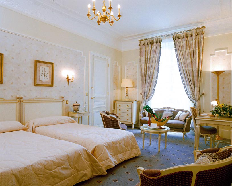 Double Room at Hotel Du Palais
