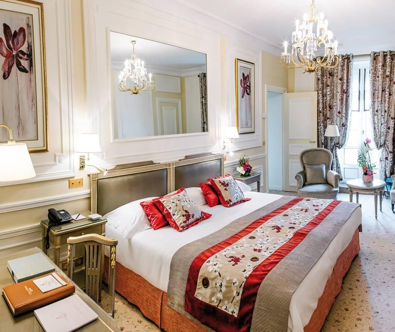 Guest Room at Hotel Du Palais