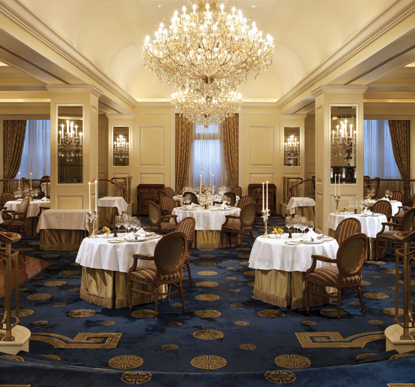 The Peninsula Hong Kong Gaddi's has been renowned for French dining in Hong Kong since 1953
