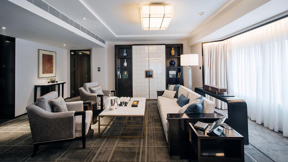 Suite Living Room at The Peninsula BeijingChina