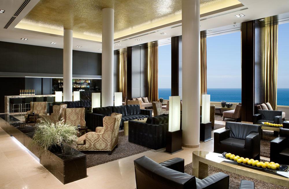 Lobby of Dan Tel Aviv HotelIsrael