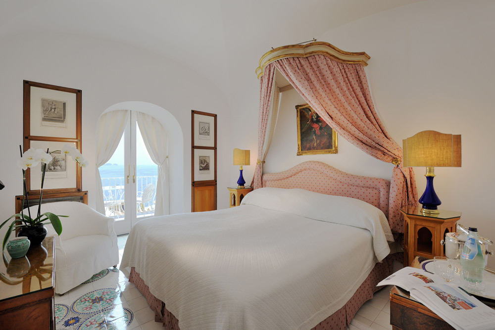 Guest Room Number 48 at Le SirenusePositanoItaly