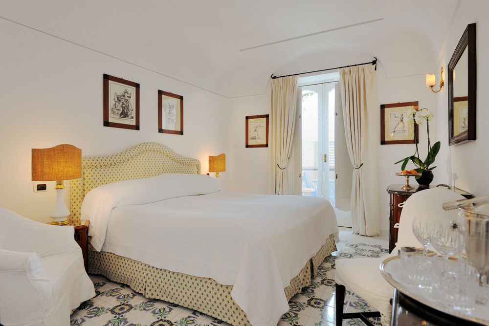 Guest Room Number 56 at Le SirenusePositanoItaly