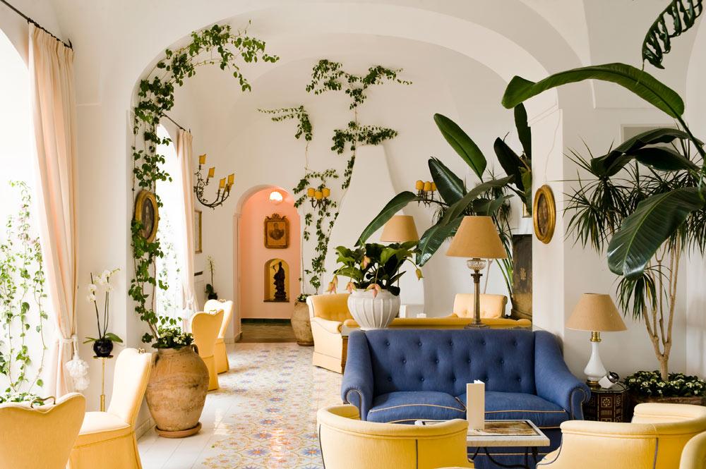 Lounge at Le SirenusePositanoItaly