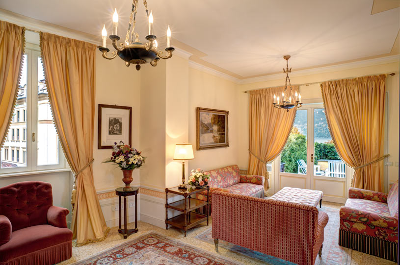 Sitting Room at Villa d'Este