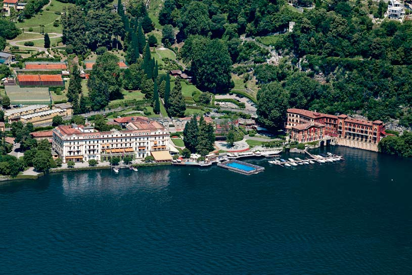 General View at Villa d'Este