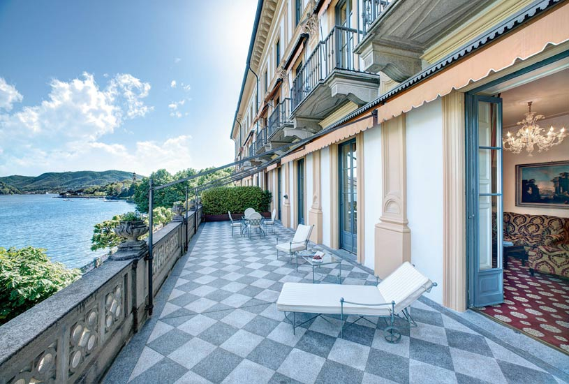 Cardinal Suite Terrace at The Villa dEste Lake Como