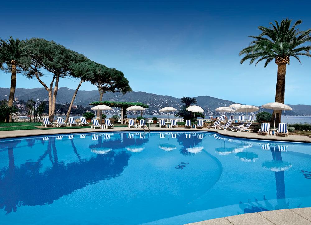Pool at Grand Miramare Italy