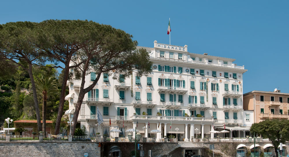 Exterior of Grand Miramare Italy