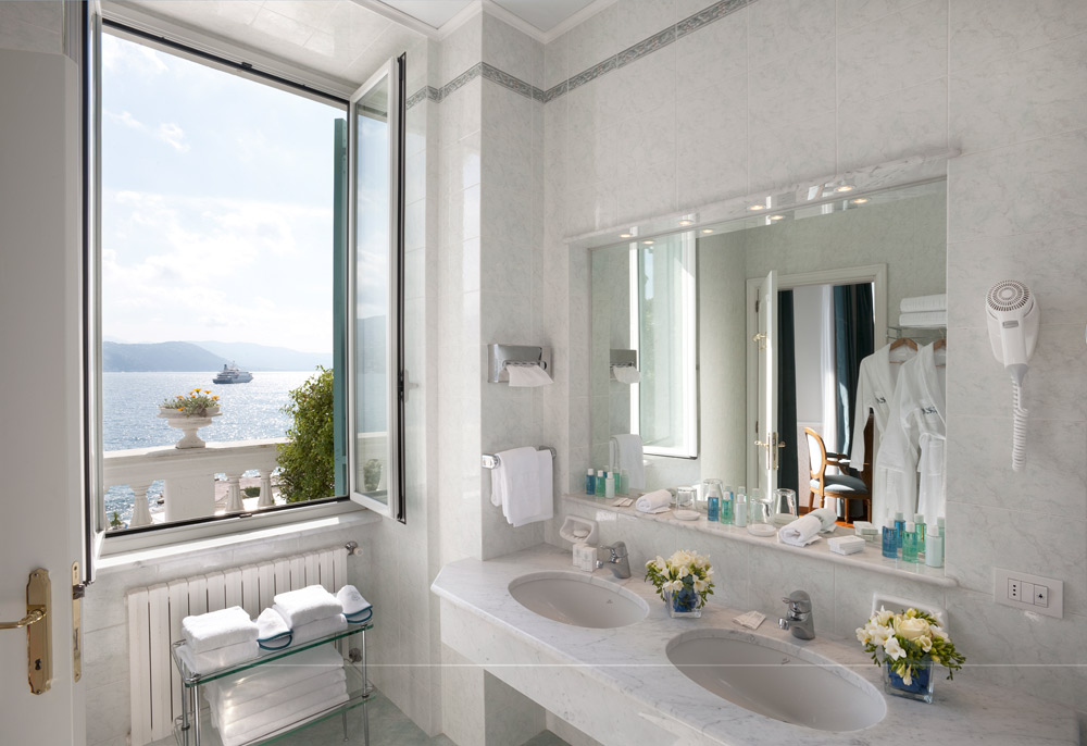 Bath at Grand Miramare Italy