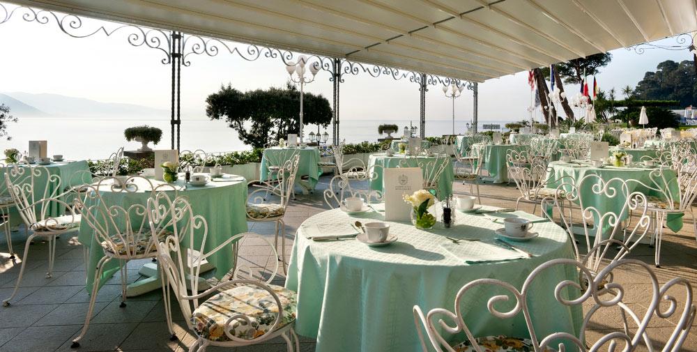Terrace Restaurant at Grand Miramare Italy