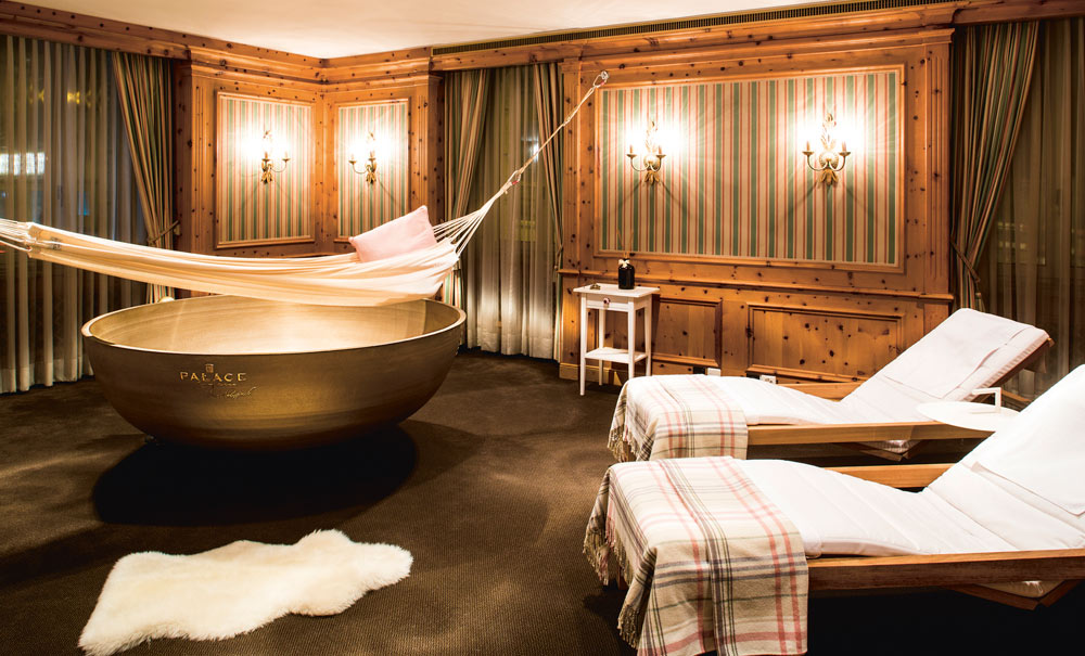 Spa at Palace Luzern, Switzerland