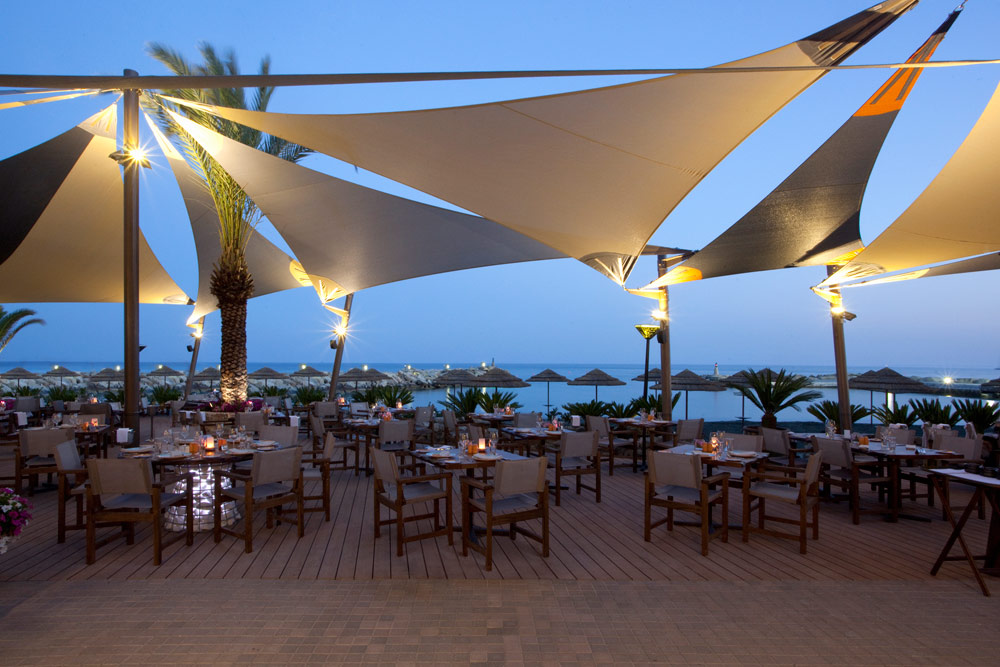 Dining at Amathus Beach HotelLimassolCyprus
