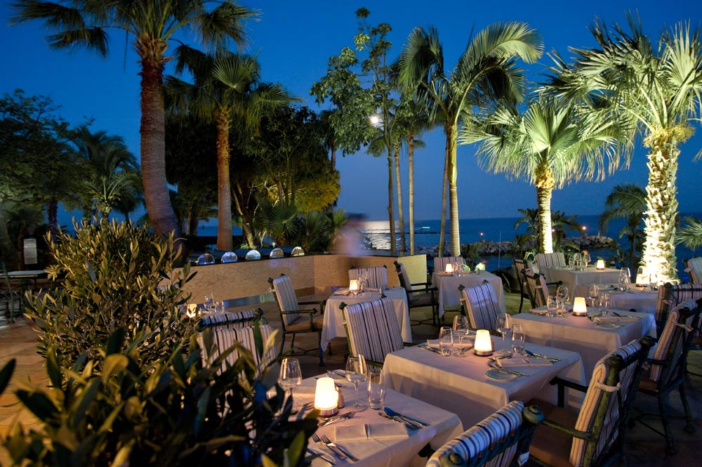 La Terrazza Restaurant at Amathus Beach HotelLimassolCyprus