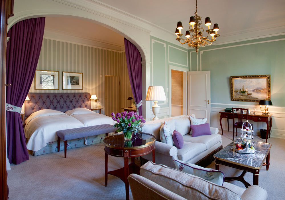 Suite at Brenners Park Hotel and Spa, Baden, Germany