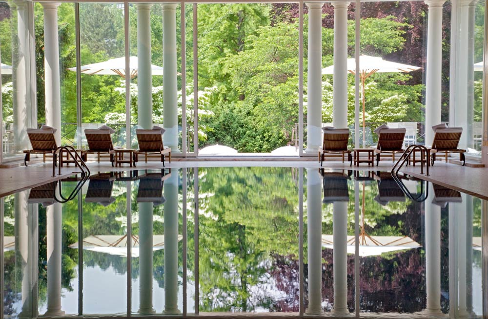Indoor Pool at Brenners Park Hotel and Spa, Baden, Germany