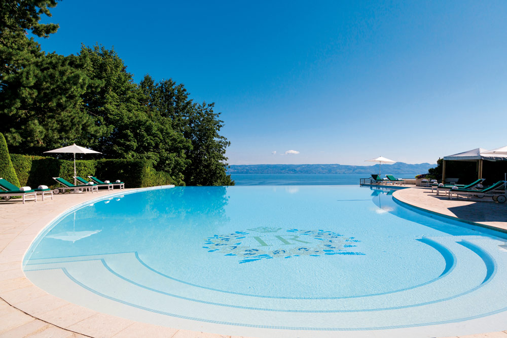 Outdoor PoolHotel Royal at Evian ResortFrance