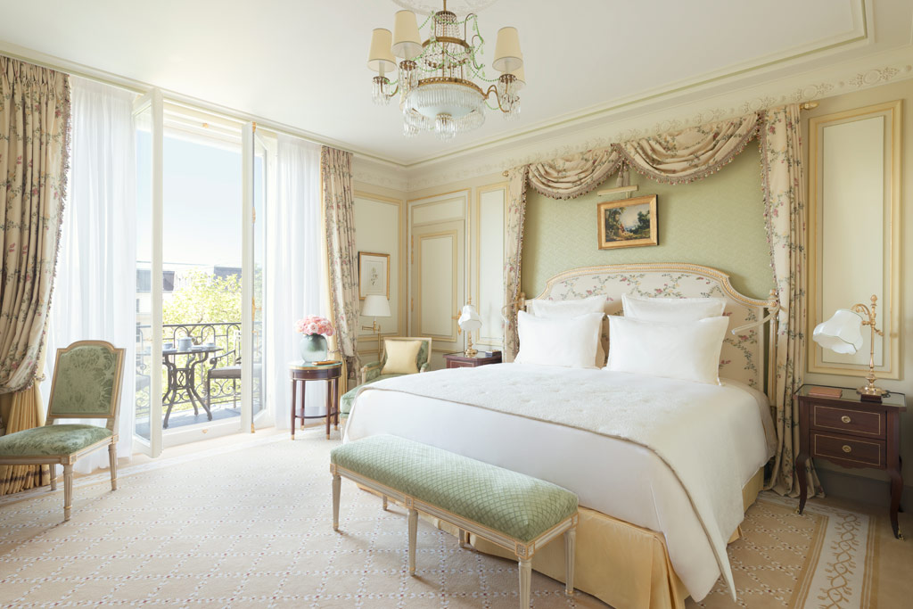 Guest Room at Ritz Paris, Paris, France