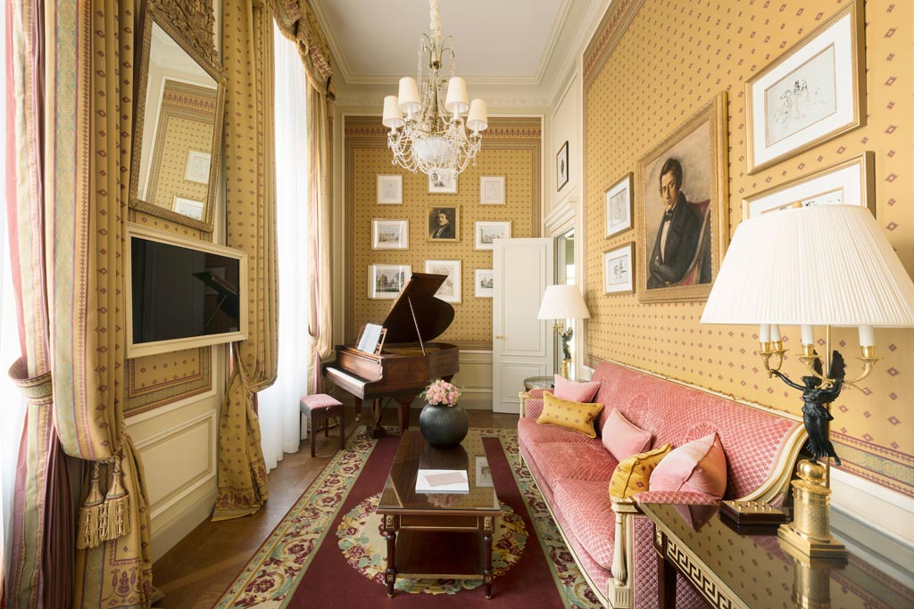 Suite Chopin at Ritz Paris, Paris, France