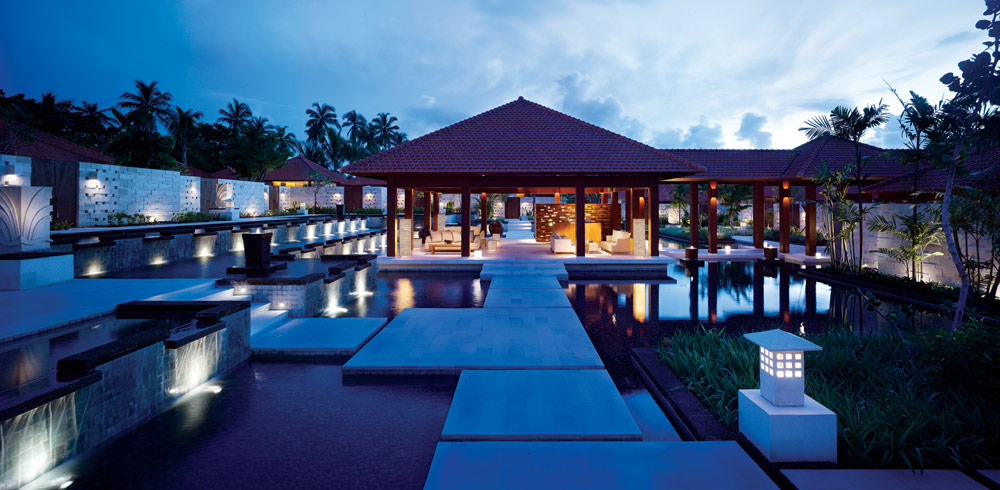 Exterior of Kriya Spa at Grand Hyatt BaliIndonesia
