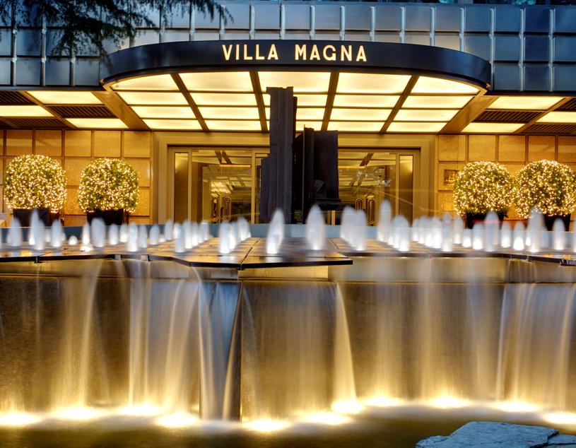 Hotel Villa Magna Exterior