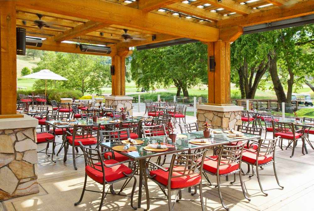 Lion's Peak Grill at  CordeValle, a Rosewood Resort in San Martin, CA, United States