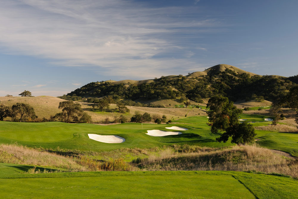 Golf Course at CordeVallea Rosewood Resort in San MartinCAUnited States