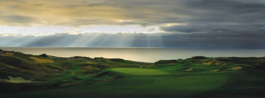 Hole #1 - Outward Bound<br />Straits course at Whistling Straits