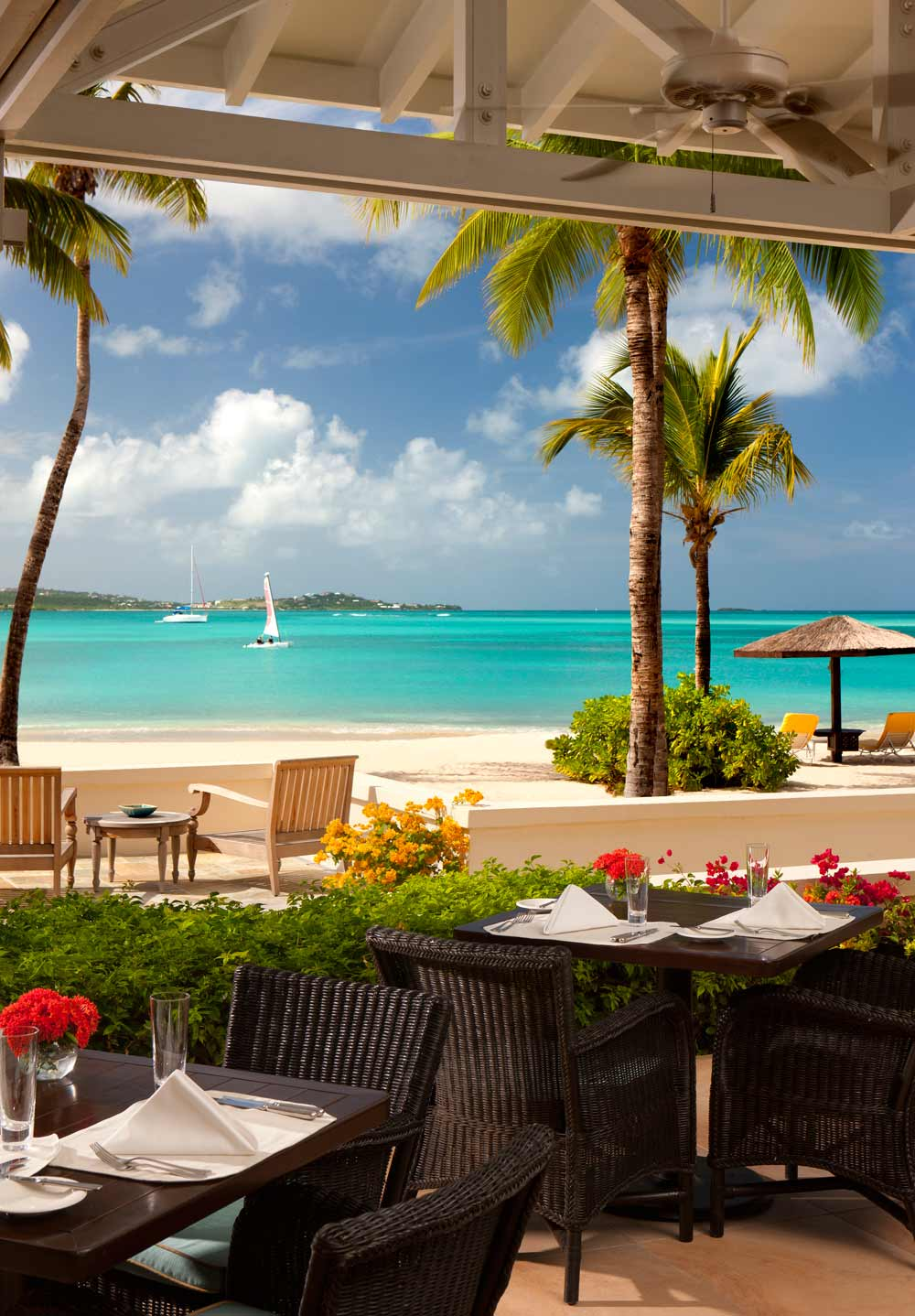 Jumby Bay Verandah RestaurantSt JohnsAntigua And Barbuda