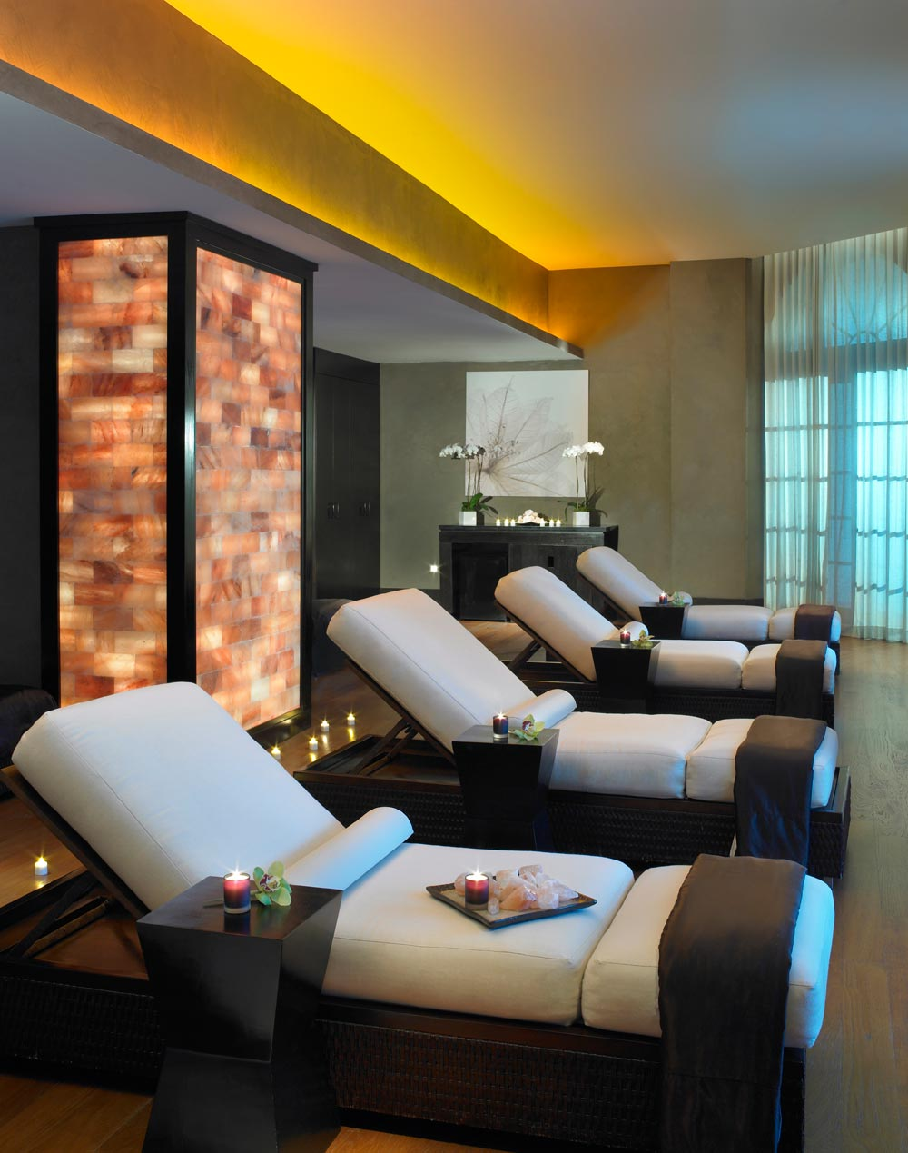 Himalayan Salt Wall Spa at Acqualina Resort and SpaSunny Isles BeachFL