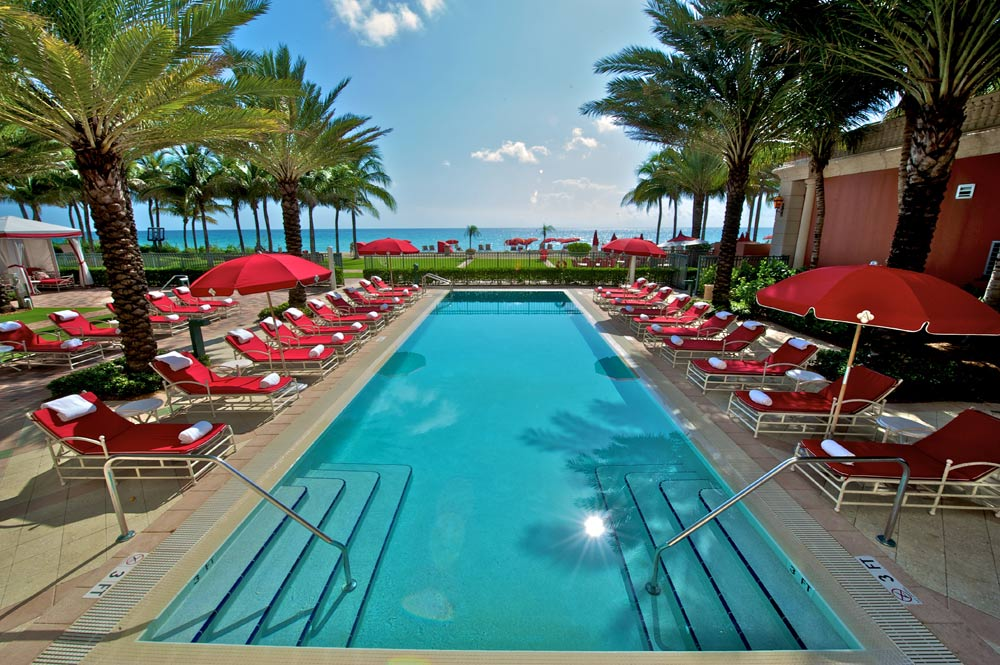 Pool at Acqualina Resort and SpaSunny Isles BeachFL