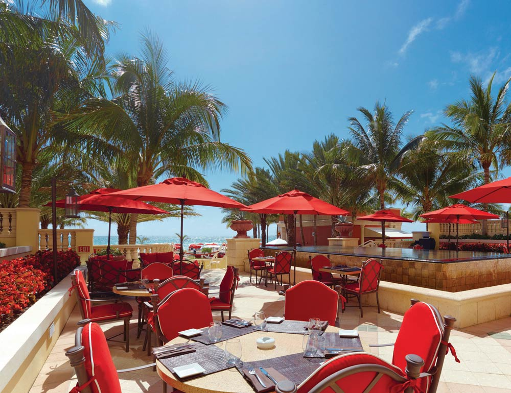 Dining at Acqualina Resort and SpaSunny Isles BeachFL