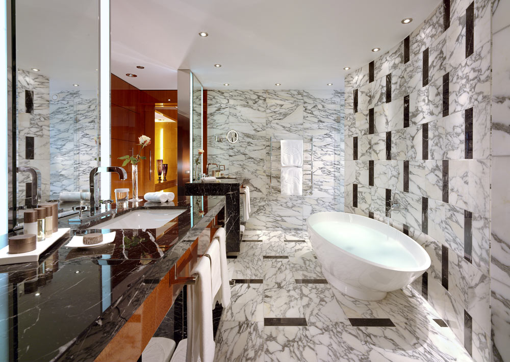 Geneva Oriental Suite Bath at Mandarin Oriental GenevaGenevaSwitzerland