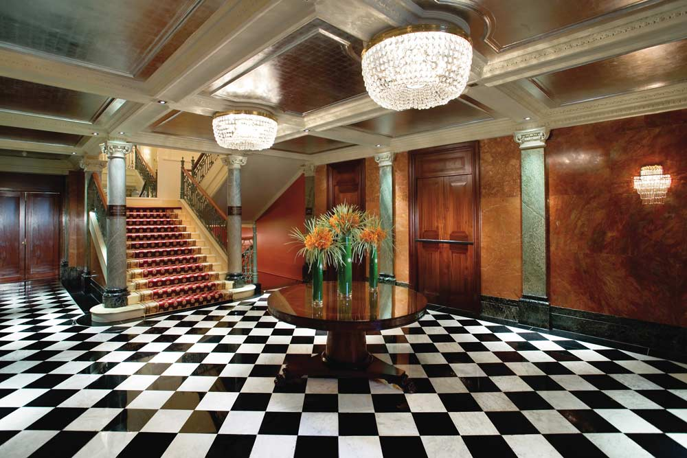Ballroom Entrance at Mandarin Oriental Hyde Park