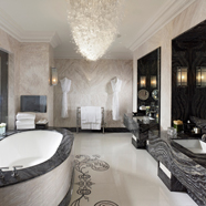 Bath of Royal Suite at Mandarin Oriental Hyde Park