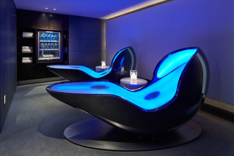 Four Senses Loungers in Spa at Mandarin Oriental Hyde Park