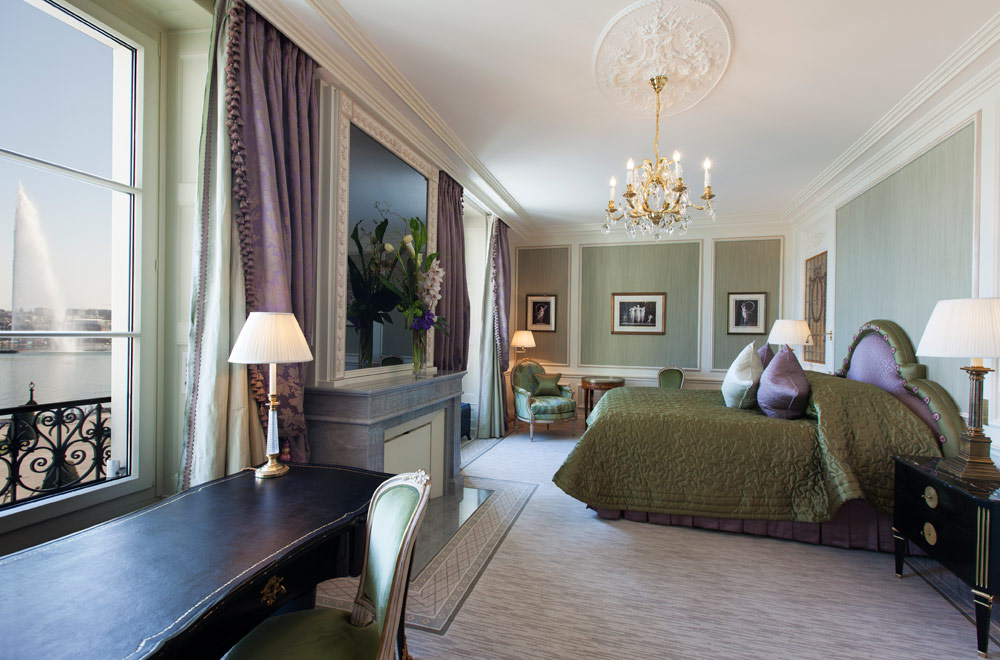 Prestige Suite at Beau Rivage GenevaSwitzerland