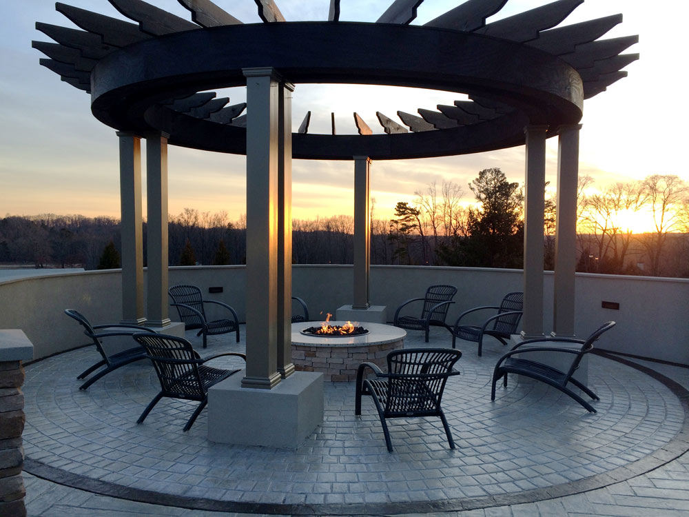 Winery Fire Pit at Chateau Elan Winery and ResortBraseltonGA