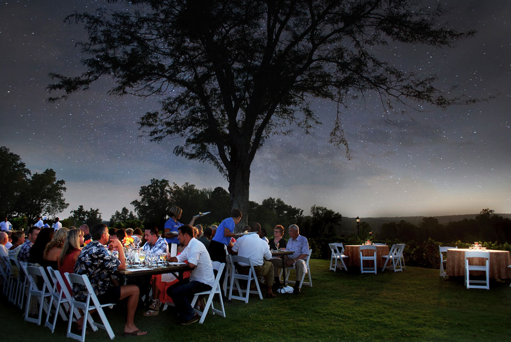 Dine under the stars at Chateau Elan Winery and ResortBraseltonGA
