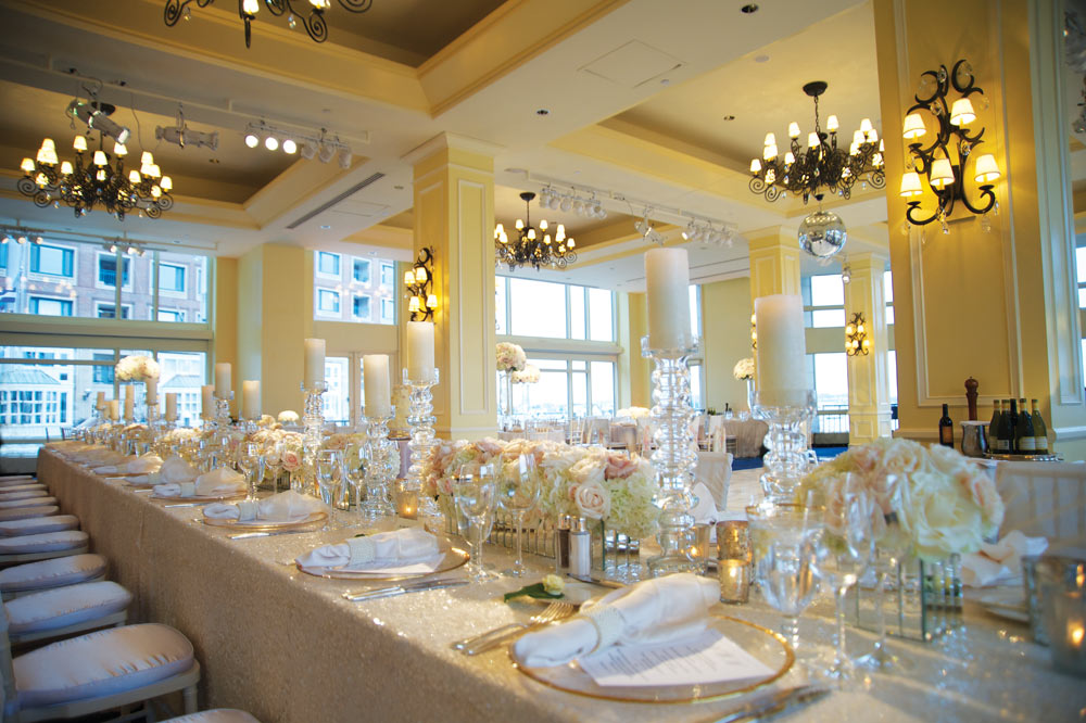 Weddings at Boston Harbor HotelBostonMA