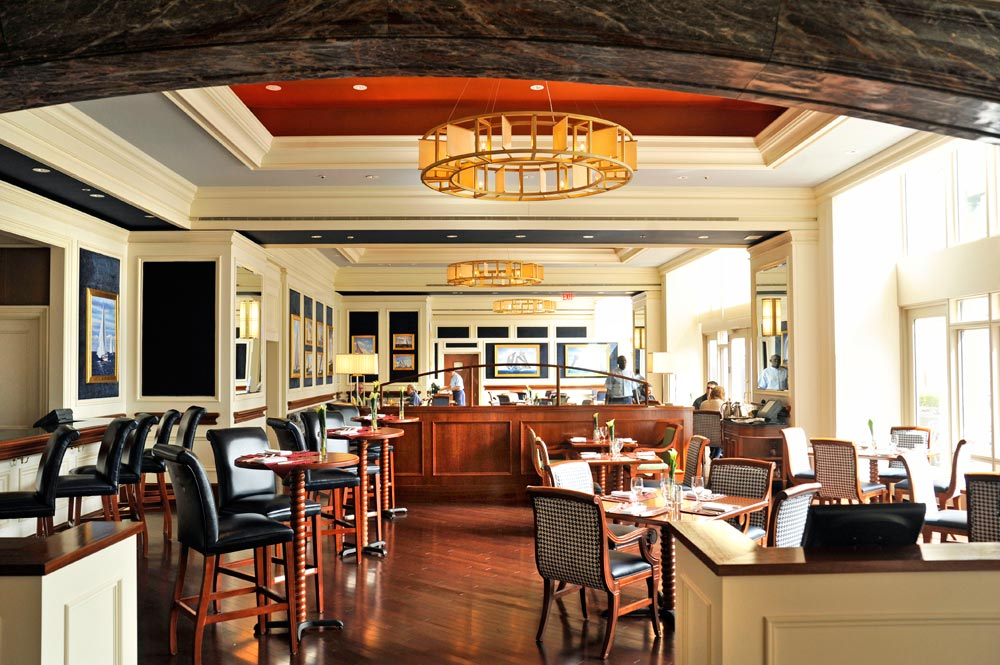 Dining Room at Boston Harbor HotelBostonMA