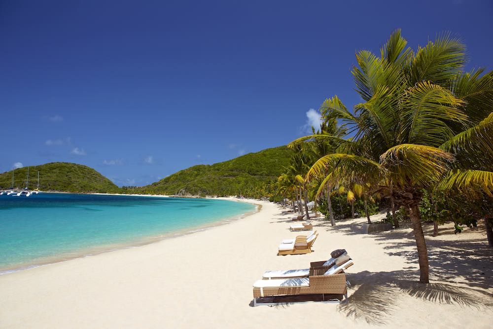 Deadmans Beach at Peter Island Resort & Spa