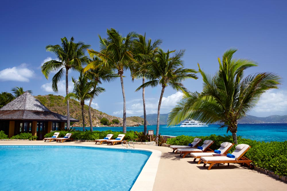 Pool Chairs at Peter Island Resort & SpaPeter IslandBritish Virgin Islands